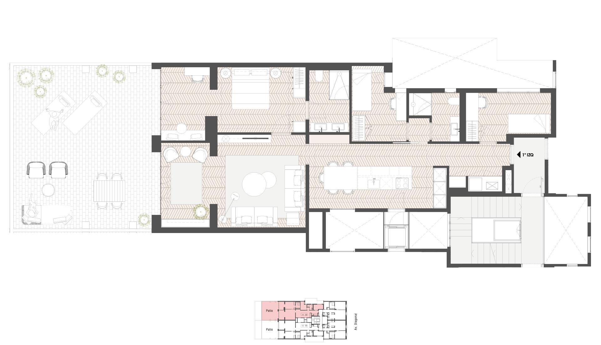 Torre Diagonal 331 - Entresuelo 1 Izq